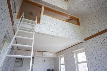 ガーデンハウスCHA-CHA203号室ロフト